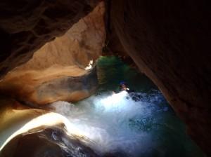 séjour canyon canyoning sierra de guara espagne