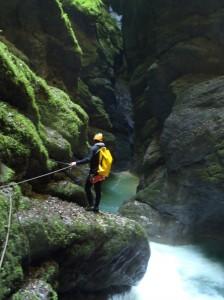 hébergement haute-savoie alpes-maritimes sierra de guara canyon canyoning séjour