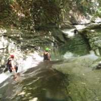 canyoning ; haute savoie