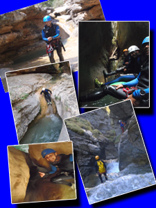 canyon canyoning séjour alpes maritimes sierra de guara haute savoie