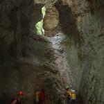 Rappel dans le canyon du Bassender sierra de guara sejour canyoning