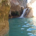 canyon de sierra de gara ,l'estrecho tamara est idéal pour un séjour initiation au canyoning