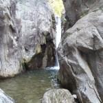 le canyon de barberine en haute Savoie ,il est idéal pour un séjour canyoning sportif avec ses toboggans et ses sauts et ses rappels