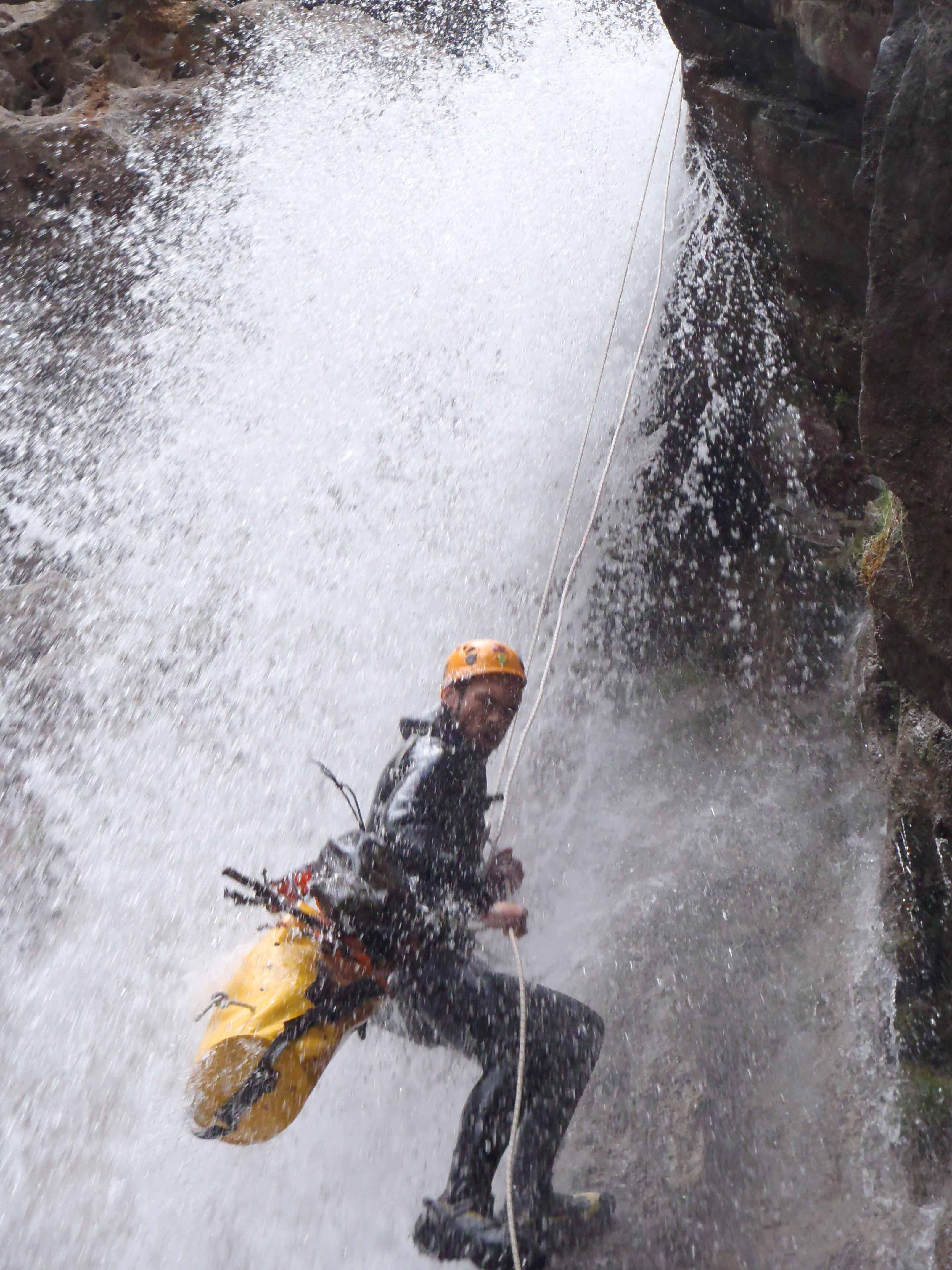 canyon canyoning séjour sierra de guara haute-savoie